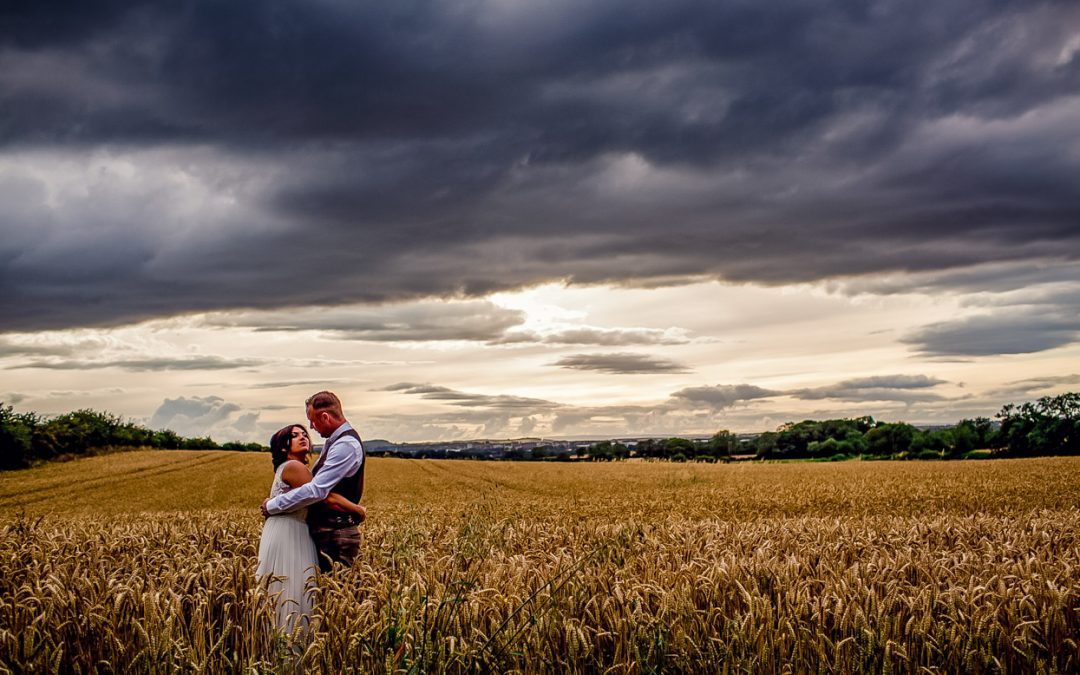 A Hammer and Pincers Wedding // Look at that Sky!