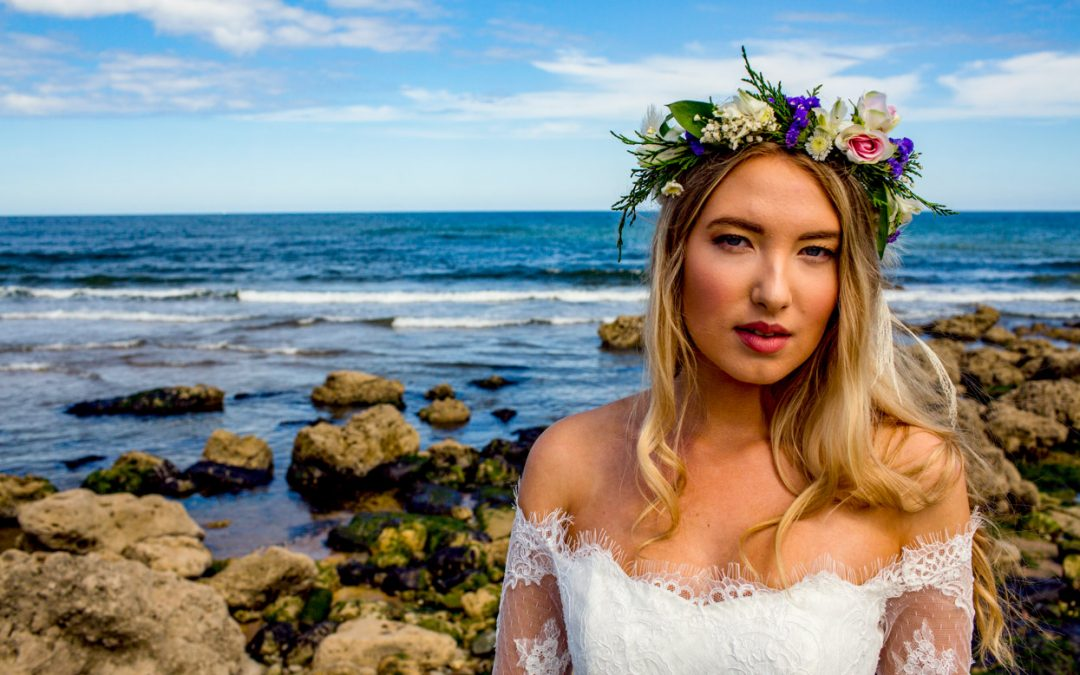 Victoria Kay Wedding Gowns //Shoot On The Beach