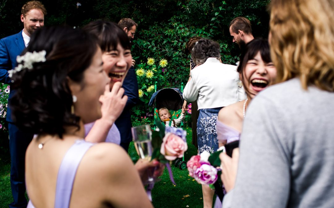 Japanese Meets English Wedding // Crook Hall