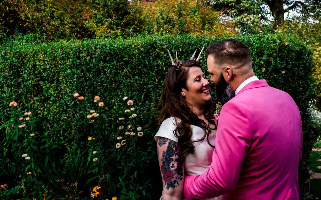 A Halloween Wedding // Durham