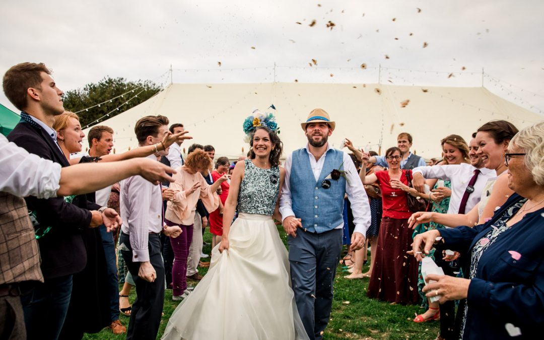 An Outdoor West Sussex Wedding // I Made This
