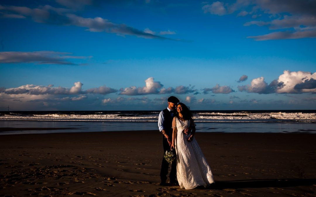 A Tynemouth Wedding on the Beach