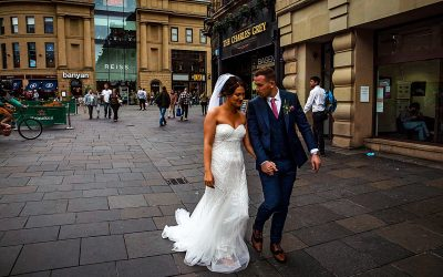 A Newcastle City Centre Wedding // My First Ever Uber