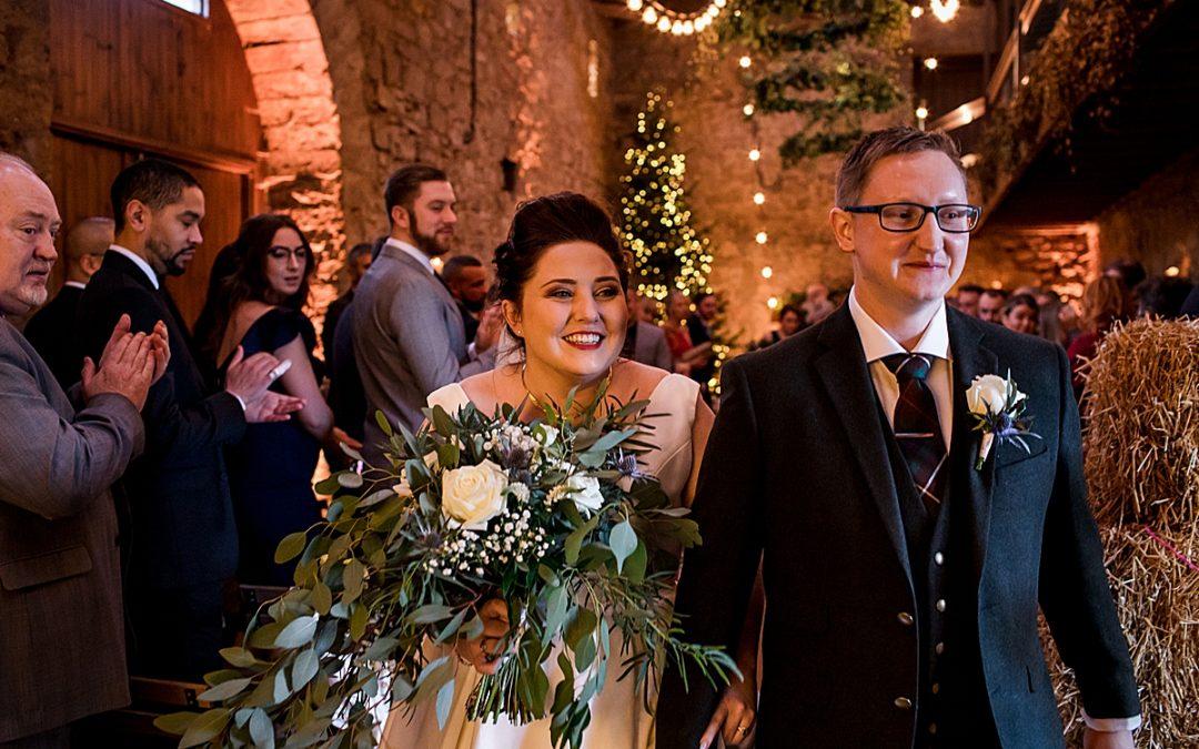 A Doxford Barns Wedding // Come on and do the Conga!